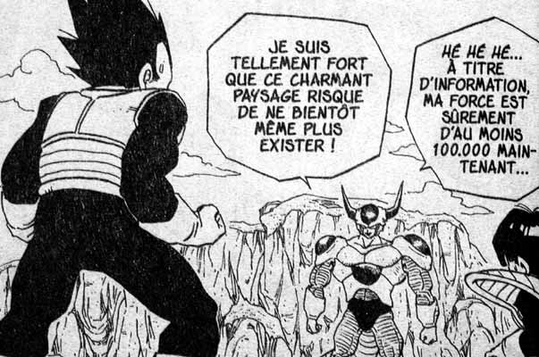 force de combat dbz